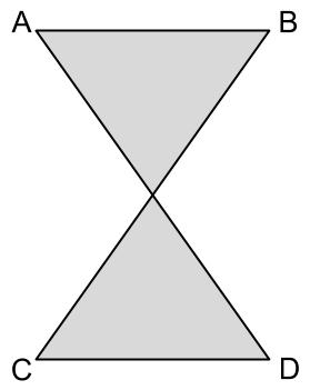 Figure 5, a self-intersecting polygon